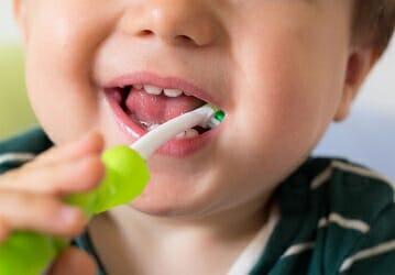 pediatric brushing