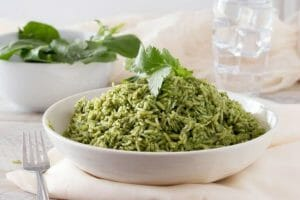 Carmen green rice