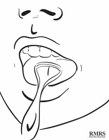 how to clean your tongue